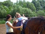 В Новосибирске стартовали соревнования по адаптивному конному спорту