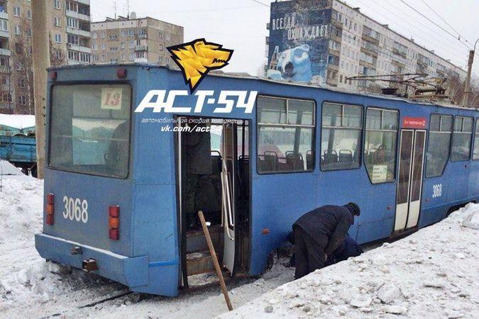 Трамвай 13-го маршрута в