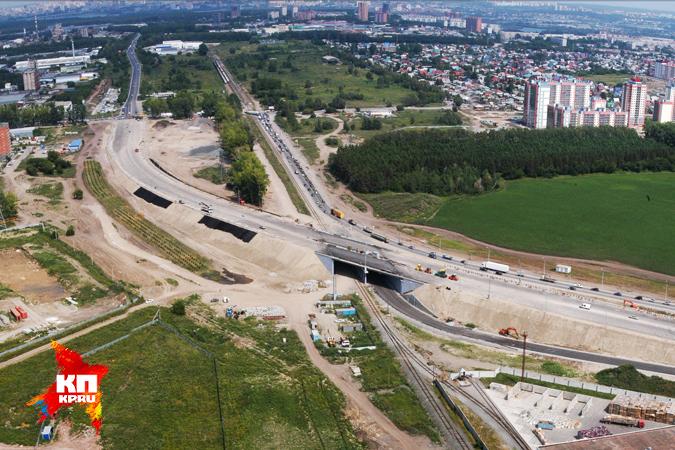 Движение по дорожной развязке